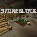 StoneBlock Pack Logo